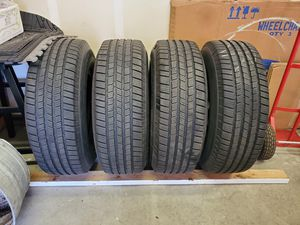 Michelin ltx winter 265/75/R16 tires with pacer rims for Sale in Tacoma, WA