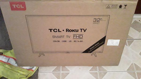 "32"" Smart TV brand new in box unopened"