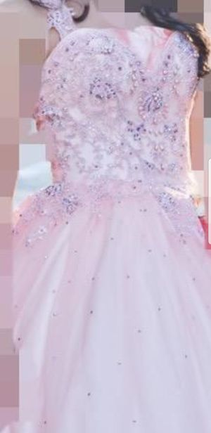 Pink.prom barbie doll dress for Sale in Lincolnia, VA