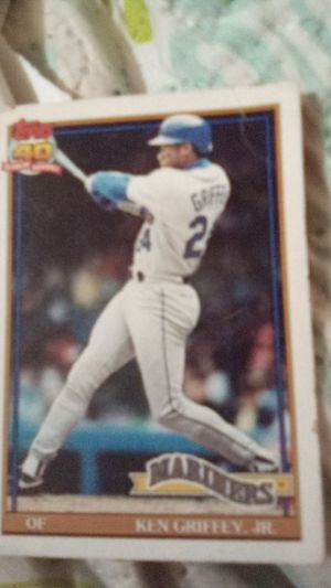 Baseball collection card Ken Griffey, Jr. for Sale in San Antonio, TX