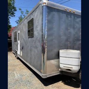 Toy hauler/Tiny home/Enclosed trailer/travel trailer. for Sale in Antioch, CA