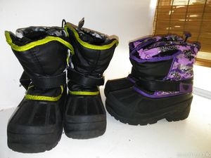 Kids Snow boots ( Size 12) for Sale in Riverside, CA