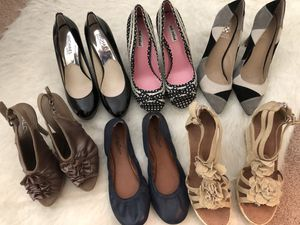 Women's Luxury and Casual Shoes, Heels, Flats, Wedges, Size 7 for Sale in Hyattsville, MD