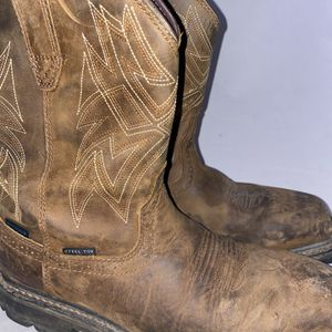 Men Preowned Ariat Work Steel Toe Boot Size 9.5 for Sale in Chula Vista, CA