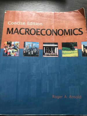 Macroeconomics: Concise Edition for Sale in Washington, DC
