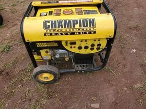 Champion generator for Sale in Frederick, MD