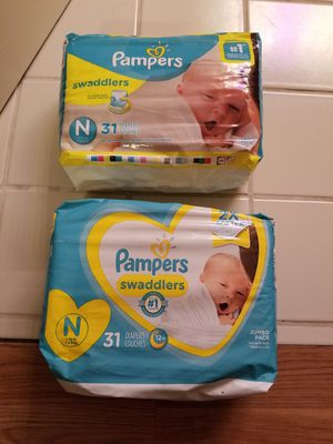 Pampers Swaddlers- N for Sale in Vista, CA