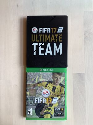FIFA 17 for Xbox One with Steel Case for Sale in Seattle, WA