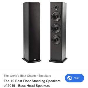 Polk Audio Floor Speakers for Sale in Costa Mesa, CA