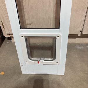 Cat Door With Locking Flap for Sale in Gilbert, AZ
