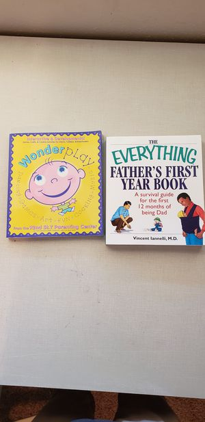 Books: Everything guide Fathers First year & Wonder play for Sale in Sanger, CA