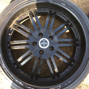 "20"" rims 5 lug 5x114 for Sale in Jurupa Valley, CA"