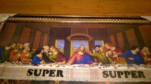 """Last Supper """"Super Supper"""" Framed Artwork for Sale in Tempe, AZ"""