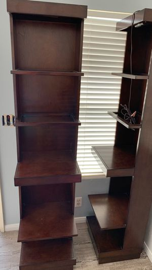 Wood shelving unit x2 for Sale in San Diego, CA