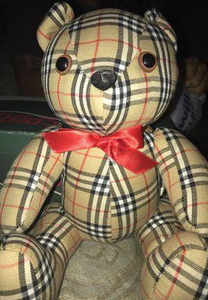 Burberry Stuffed Bear for Sale in Pittsburgh, PA