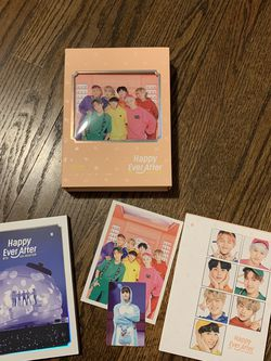 BTS 4TH MUSTER CD HAPPY EVER AFTER for Sale in Hickory Hills,  IL