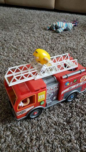 M&M Firetruck Dispenser for Sale in Dorris, CA