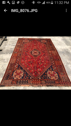 Handmade Persian antique collectible rug for Sale in Charlotte, NC