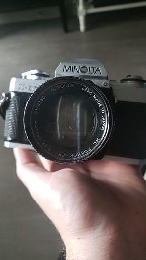 minolta vintage film camera for Sale in Denver, CO