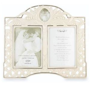 Lenox wedding double frame 5x7 for $50 for Sale in Riverside, CA