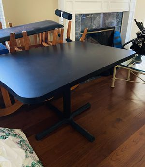 Classic black table for Sale in Tustin, CA