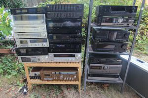 Stereo receivers, tuners, decks, EQs, and more! for Sale in Shoreline, WA
