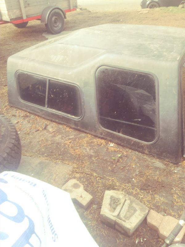 It's been a long time don't remember if it was for the Ford pickup or the Toyota pickup basic camper shell 7 Windows