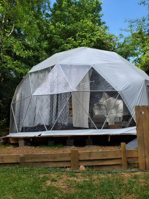 Green house Glamping Dome tent for sale 27ft wide - New for Sale in Smoke Rise, GA