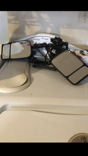 Attachable rear view mirrors for hauling campers for Sale in Queen Creek, AZ