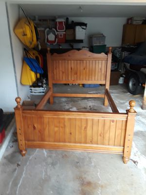 Full bed frame for Sale in Bristol, CT