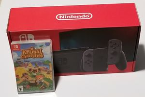 Nintendo Switch V2 + Animal Crossing New Horizon for Sale in Chelsea, MA