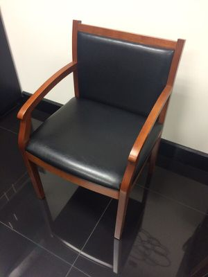 Business Wooden Leather Chairs for Sale in Atlanta, GA