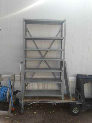 Heavy duty metal shelves for Sale in Coppell, TX
