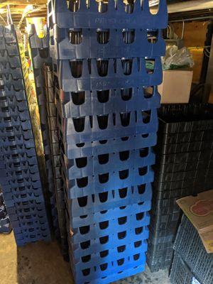Soda crates, milk crates for Sale in Chicago, IL
