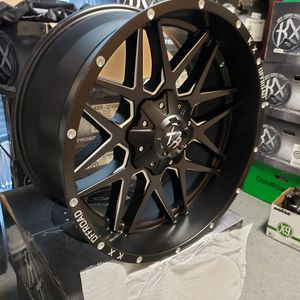 New 22x10 Off road wheels 8x180 bolt pattern for Sale in Indian Land, SC