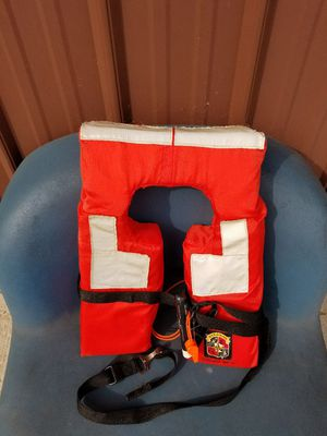 Coast Guard life preservers...have 10 each for sale...child sizes also for Sale in Beaver Dams, NY