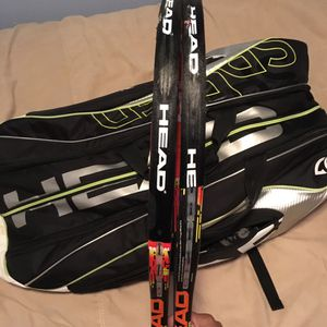 2 Head Graphene Radical MP / 12 Racquet Holder Head Speed Tennis Bag for Sale in Portland, OR