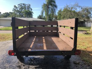 Utility trailer in excellent condition for Sale in St. Petersburg, FL