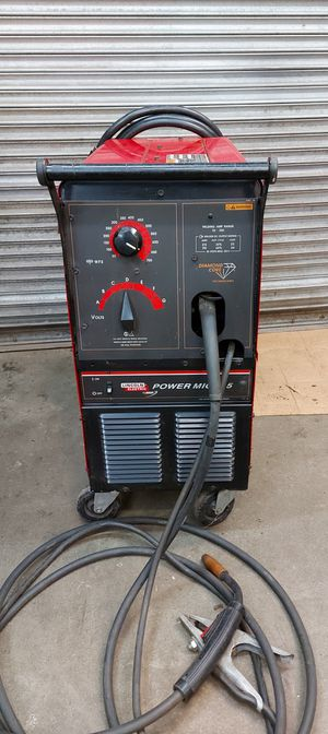 Lincoln Power Mig 215 for parts or repair for Sale in Burien, WA