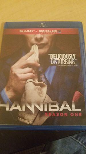 HANNIBAL season one (bluray) for Sale in Columbia, MO