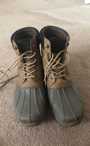 Men's size 12 Sperry Boots for Sale in Frederick, MD