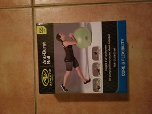 Anti-burst exercise ball for Sale in Pembroke Pines, FL