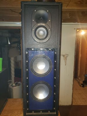 Pro studio home audio speaker tower for Sale in Independence, MO
