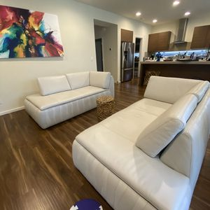 Modern Italian leather sofas for Sale in Bothell, WA