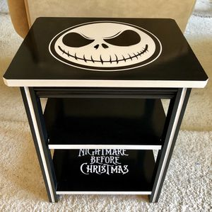 Nightmare Before Christmas End Table for Sale in Kingsburg, CA