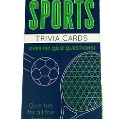 Sports Trivia Cards NWT for Sale in Montgomery, AL