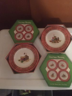 Christmas Morning Dishes for Sale in Bath, PA