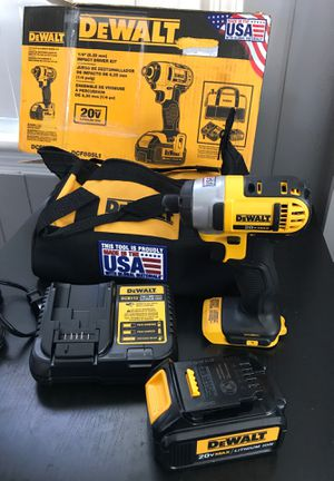 Dewalt impact driver with 3.0 battery new for Sale in Arlington, VA