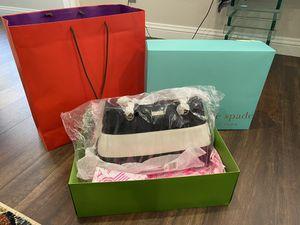 Brand New Kate Spade Black & White Stripe Tote Bag for Sale in Tustin, CA