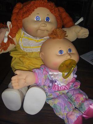 Cabbage Patch Kids Dolls (2) for Sale in Manassas, VA
